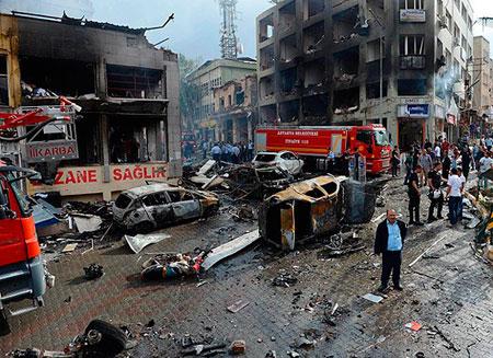 Исполнителям теракта в Турции заплатили $72 тыс.