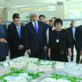 Бакытжану Сагинтаеву представили план развития нового города