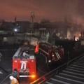 Очередной пожар возник на барахолке