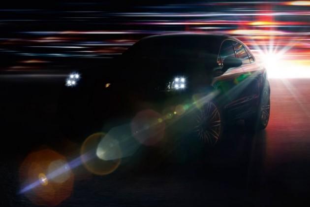 Официальные тизеры Porsche Macan