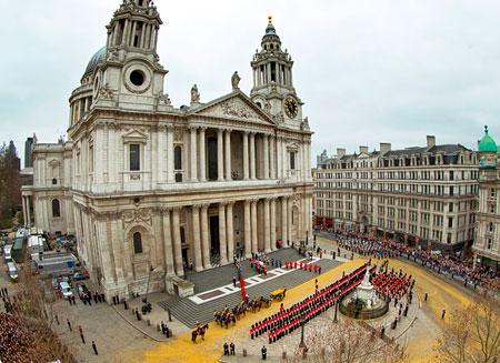 В 3,6 млн. фунтов обошлись британцам похороны Тэтчер