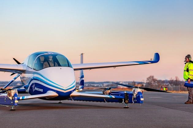 Boeing испытал пассажирский беспилотник