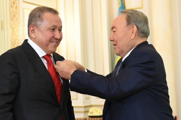 Нурлан Смагулов награжден орденом «Барыс»