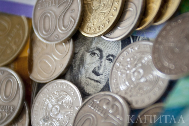 Доллар окреп на2,03тенге