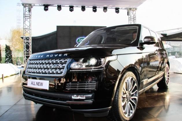 Range Rover обзавелся трехлитровым двигателем