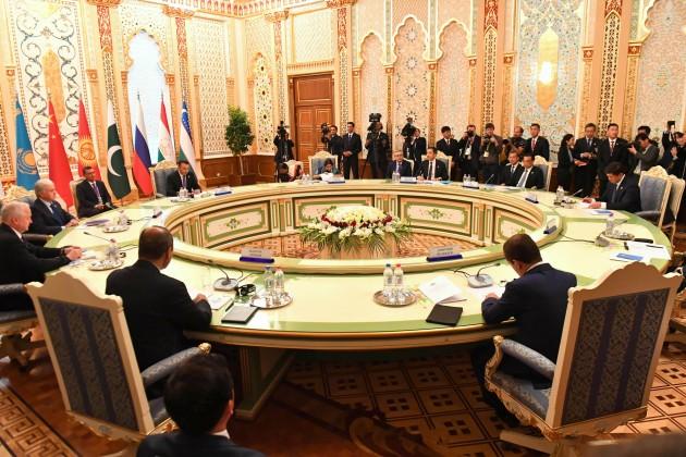 Бакытжан Сагинтаев встретился сглавами правительств стран ШОС