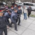 Милиция вБишкеке разогнала митингующих