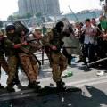 На Майдане появились новые баррикады