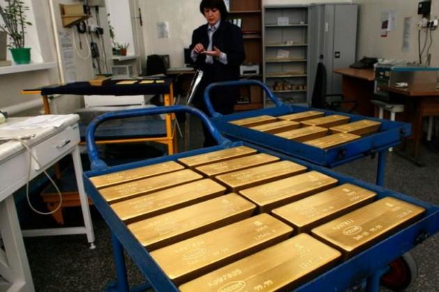 Казахстан и Россия увеличивают запасы золота