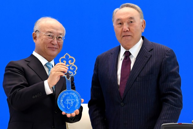 ВРК открыт банк низкообогащенного урана МАГАТЭ