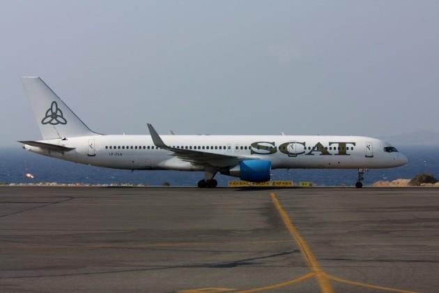 Парк компании SCAT пополнен седьмым самолетом