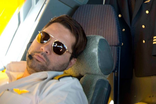 Два британских пилота самолета уснули за штурвалом