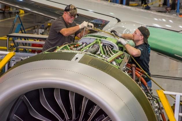 Назаводе Boeing собирают лайнер для авиакомпании SCAT