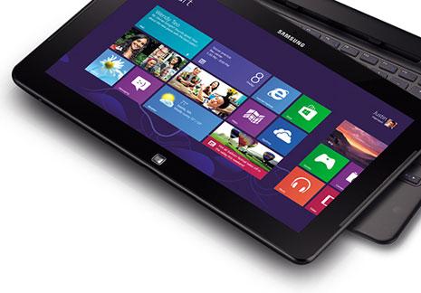 Samsung представил гибрид ноутбука и планшета