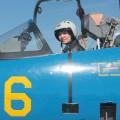 Самостоятельный полет совершила первая женщина-летчикВС РК