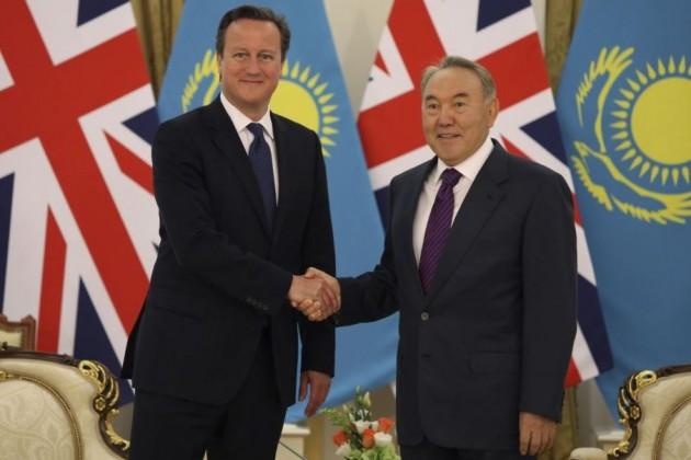 Президент РК встретился с Дэвидом Кэмероном