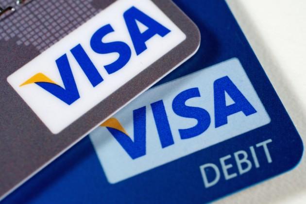 Число платежных карт Visa за год выросло на 27,6%