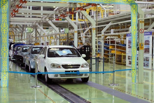 Производство автомобилей в РК увеличится на 120%