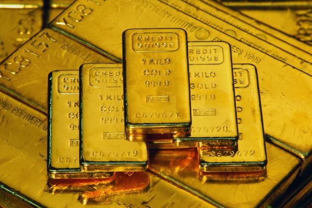 В октябре золото упало в цене на 2,8%