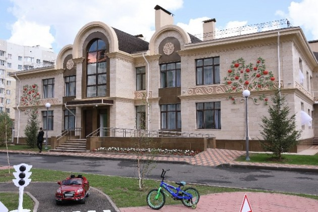 Алматы подарил Астане детский сад