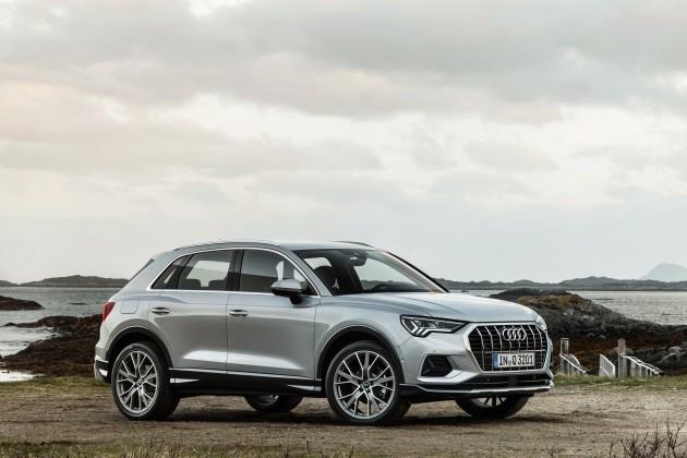 Новый Audi Q3стал больше