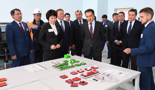 Бакытжан Сагинтаев прибыл вСеверо-Казахстанскую область