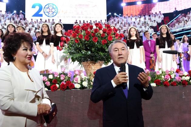 ГлаваРК: Япригласил вАстану ведущих представителей культуры совсего Казахстана