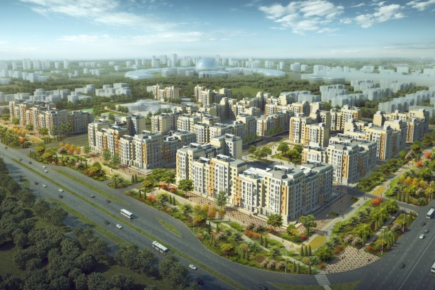 Ехро Boulevard в сердце столицы