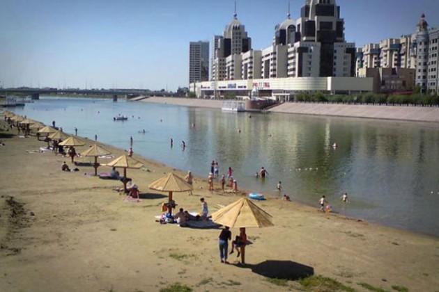 Новый песчаный пляж обустроят в Астане