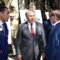 Президент осмотрел обновленные улицы Алматы