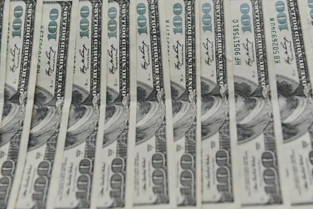 Дневные торги - 337,70 тенге за 1 доллар