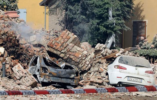 Экономический ущерб от землетрясения в Италии превышает $1 млрд