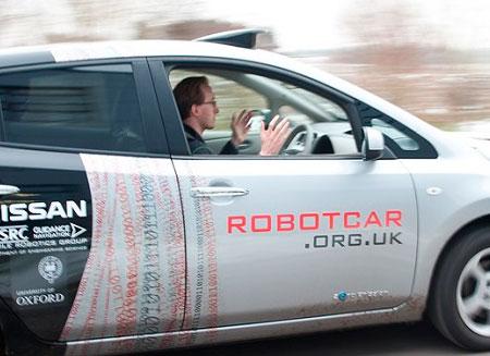 В Англии разрешили тестировать автопилотируемые машины