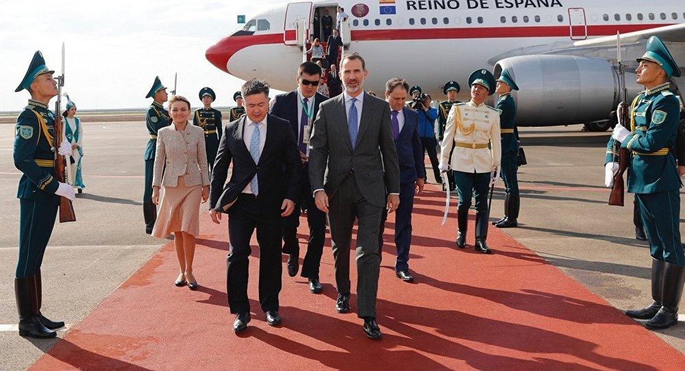Владимир Путин посетил русский павильон навыставке «Астана ЭКСПО-2017»