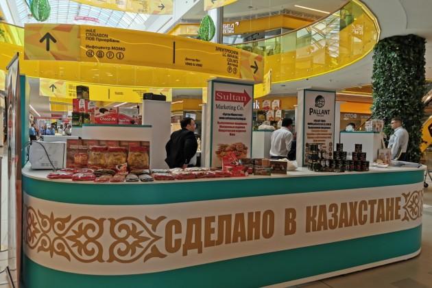 Казахстанские продукты будут продавать в супермаркетах Беларуси