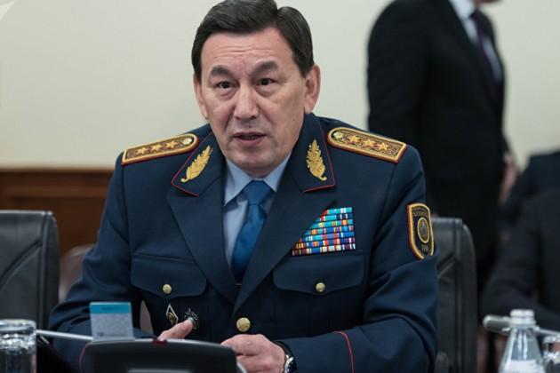 Глава МВД прокомментировал взрыв вАктау