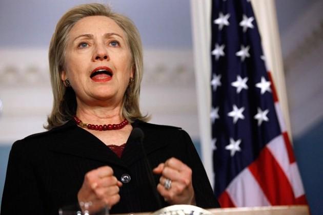 Клинтон назвала Россию традиционной угрозой