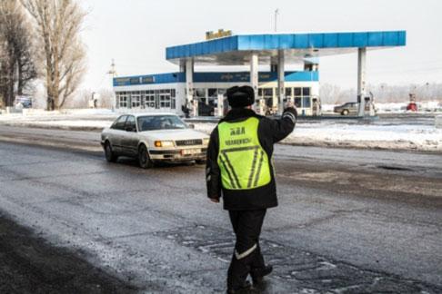 Автовладельцы оштрафованы на 25 млн. тенге