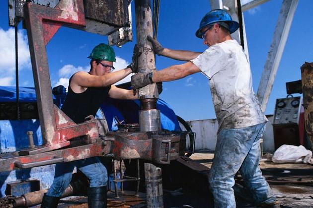 Баррель нефти Brent упал ниже $45