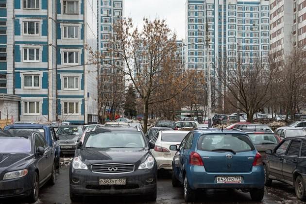 В Москве отучат горожан парковаться во дворах