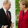 Путин и Меркель обсудили кризис в Украине