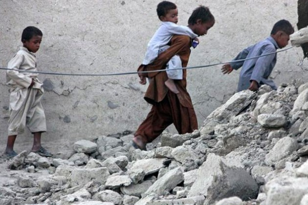 Более 200 человек погибли из-за землетрясения в Пакистане