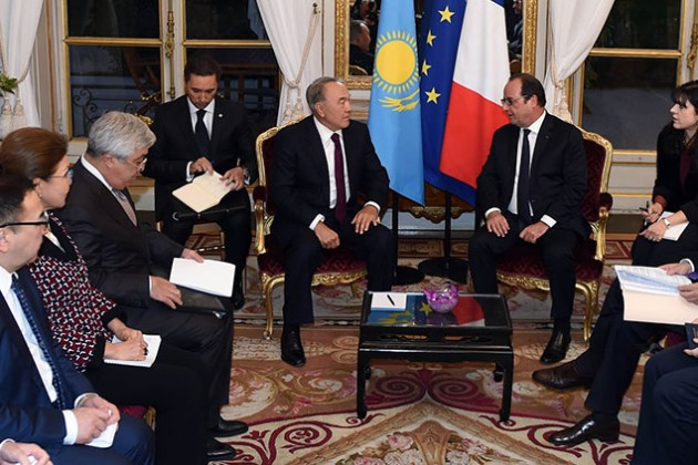 Совместные проекты с Францией имеют большое значение для РК