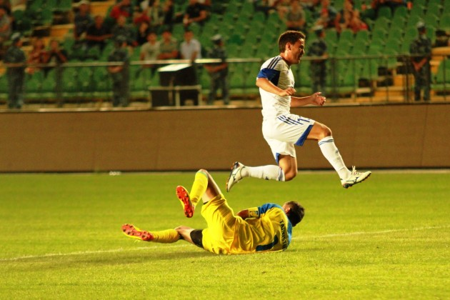 Сборная Казахстана одолела команду Таджикистана