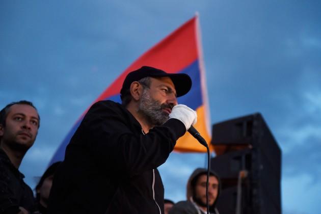 Никол Пашинян официально выдвинут напост премьера Армении