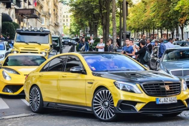 Сын казахстанского миллионера выставил коллекцию авто в Париже