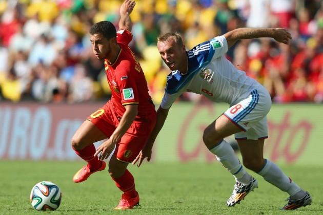 Сборная Бельгии вырвала победу у команды России