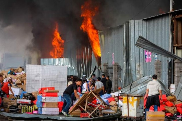 Сумма ущерба от пожара в ТЦ Адем составила 84 млн тенге