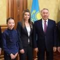 Президент встретился с победителями международных соревнований