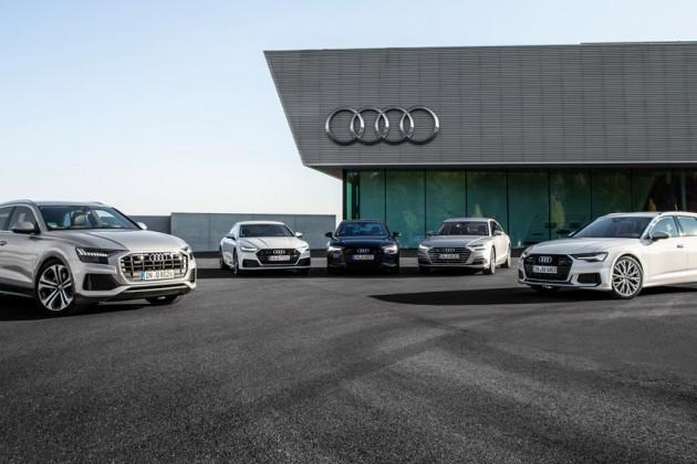 В России отзывают 4,5 тысячи автомобилей Audi